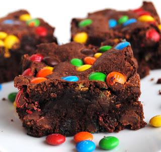 M Amp M Brownies Super Recepten